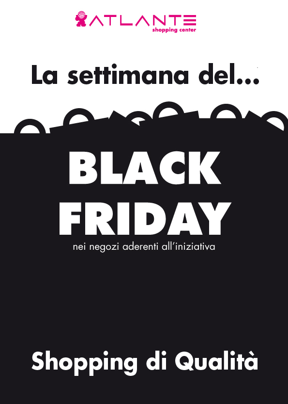 LA SETTIMANA DEL BLACK FRIDAY